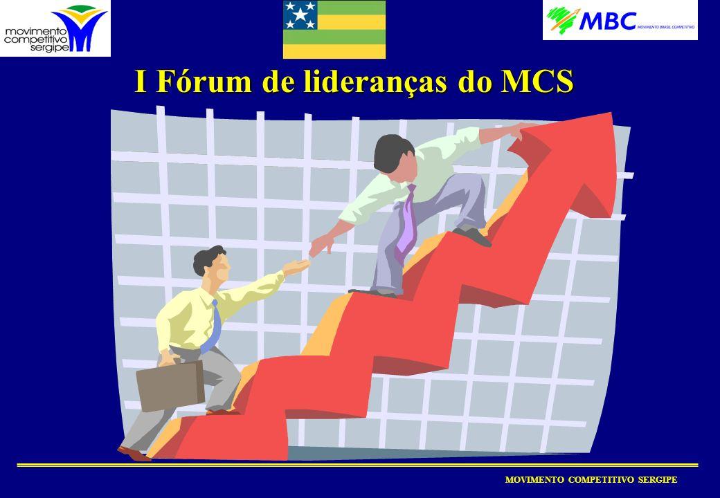 I Fórum de lideranças do MCS