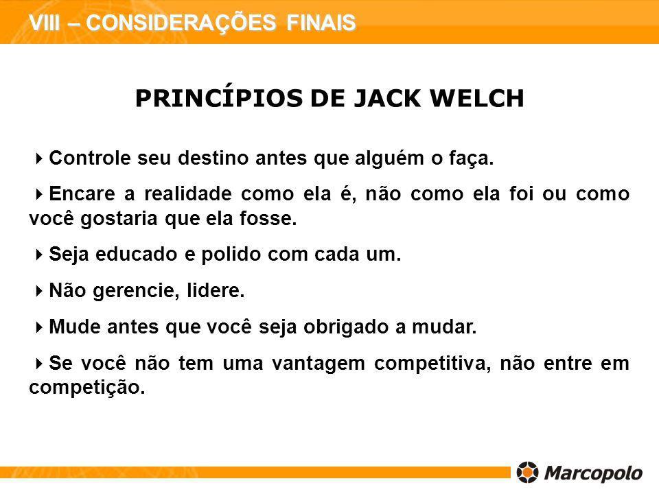 PRINCÍPIOS DE JACK WELCH