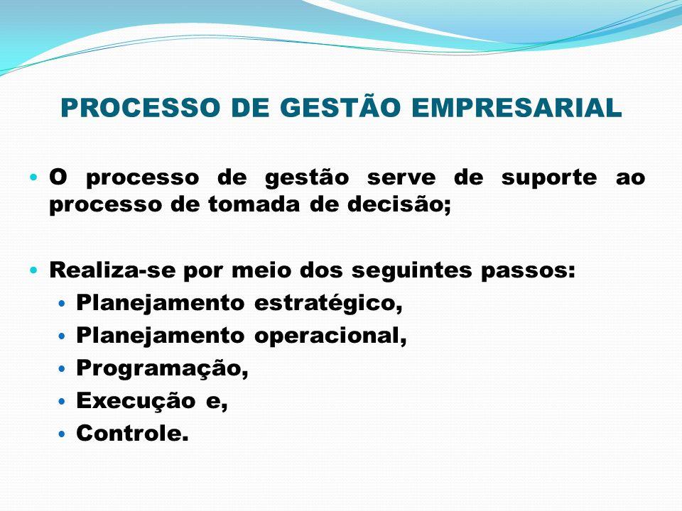 PROCESSO DE GESTÃO EMPRESARIAL