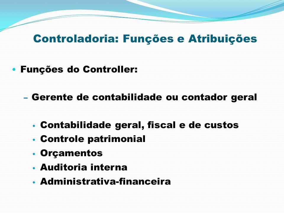 Controladoria: Funções e Atribuições