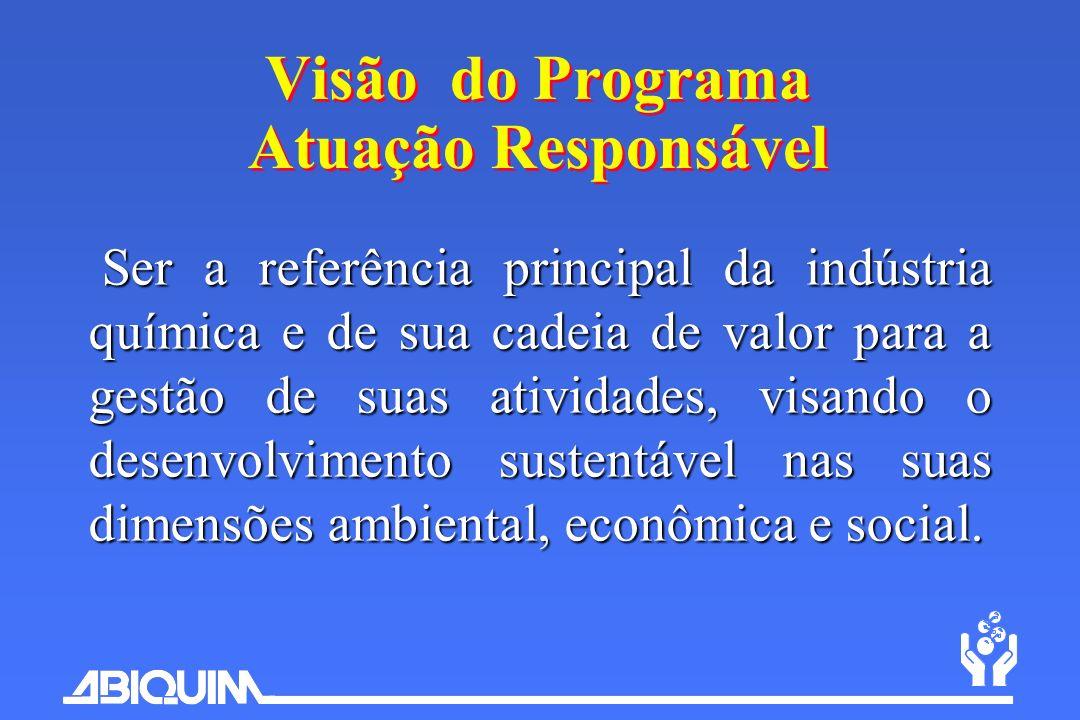Visão do Programa Atuação Responsável