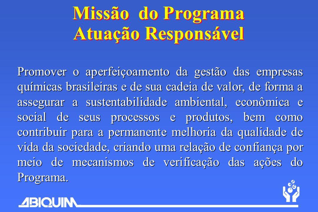 Missão do Programa Atuação Responsável