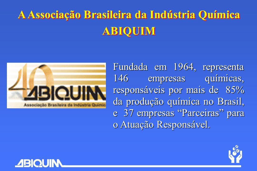 A Associação Brasileira da Indústria Química ABIQUIM