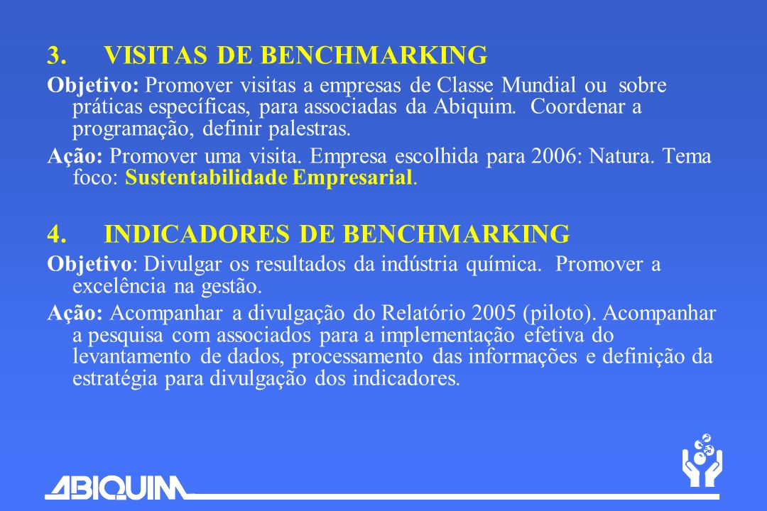 3. VISITAS DE BENCHMARKING