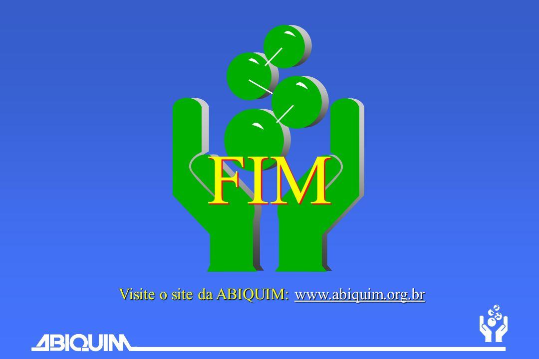 Visite o site da ABIQUIM: www.abiquim.org.br