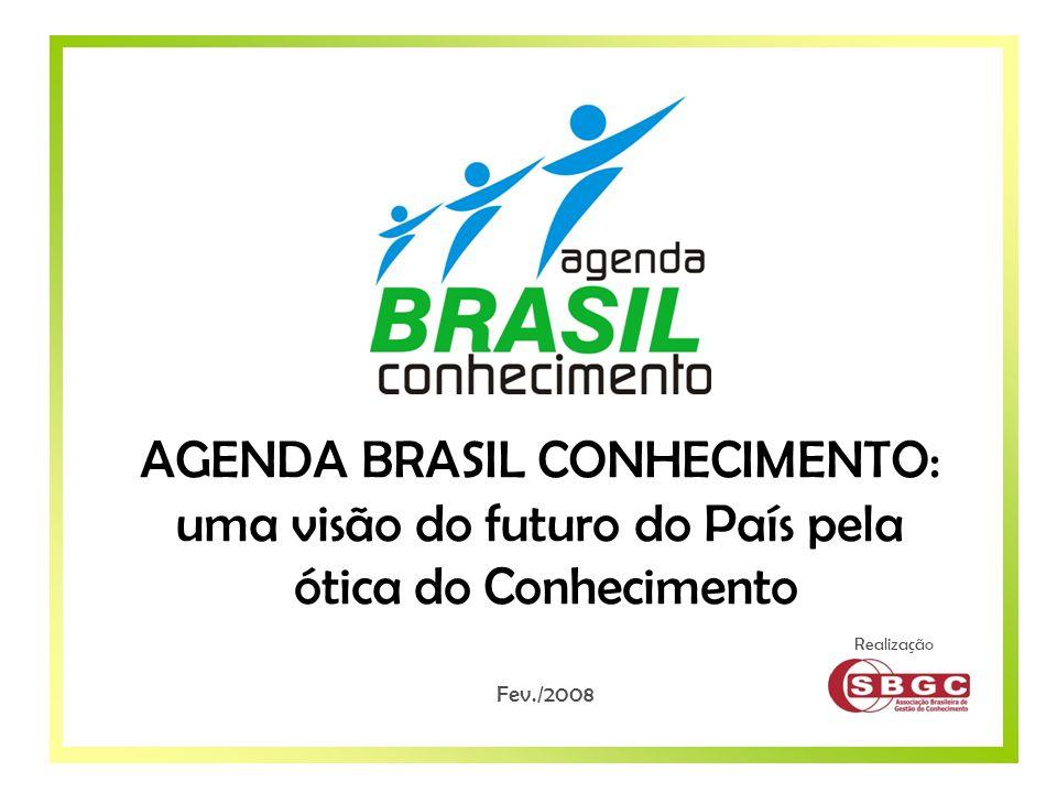 AGENDA BRASIL CONHECIMENTO: uma visão do futuro do País pela