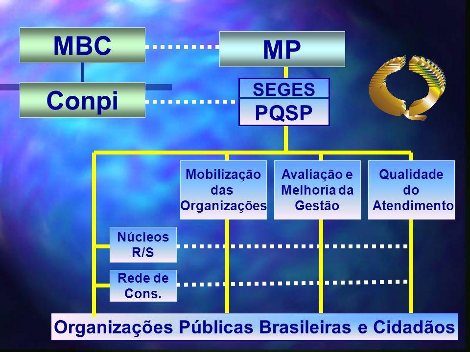 Organizações Públicas Brasileiras e Cidadãos