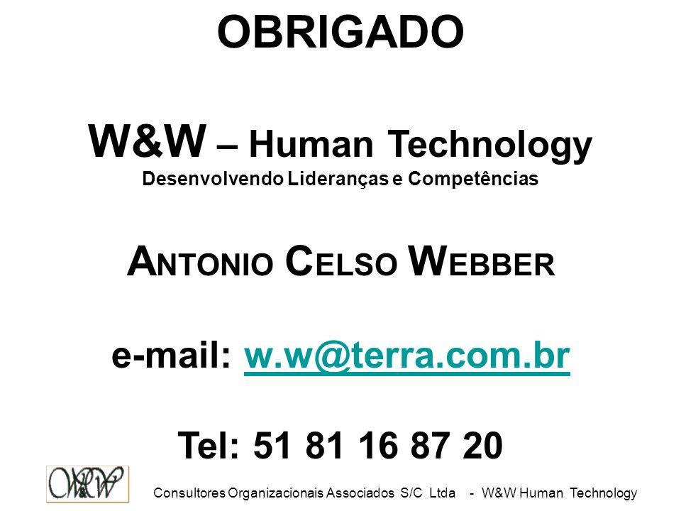 Desenvolvendo Lideranças e Competências e-mail: w.w@terra.com.br