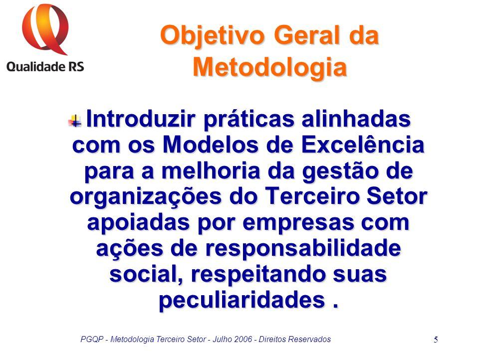 Objetivo Geral da Metodologia