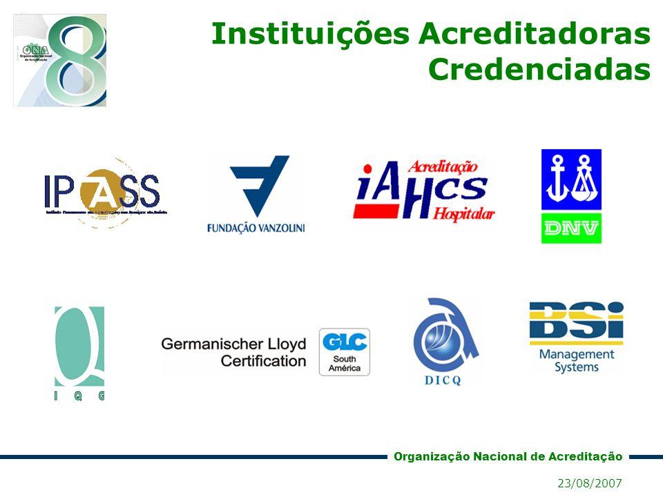 Instituições Acreditadoras Credenciadas