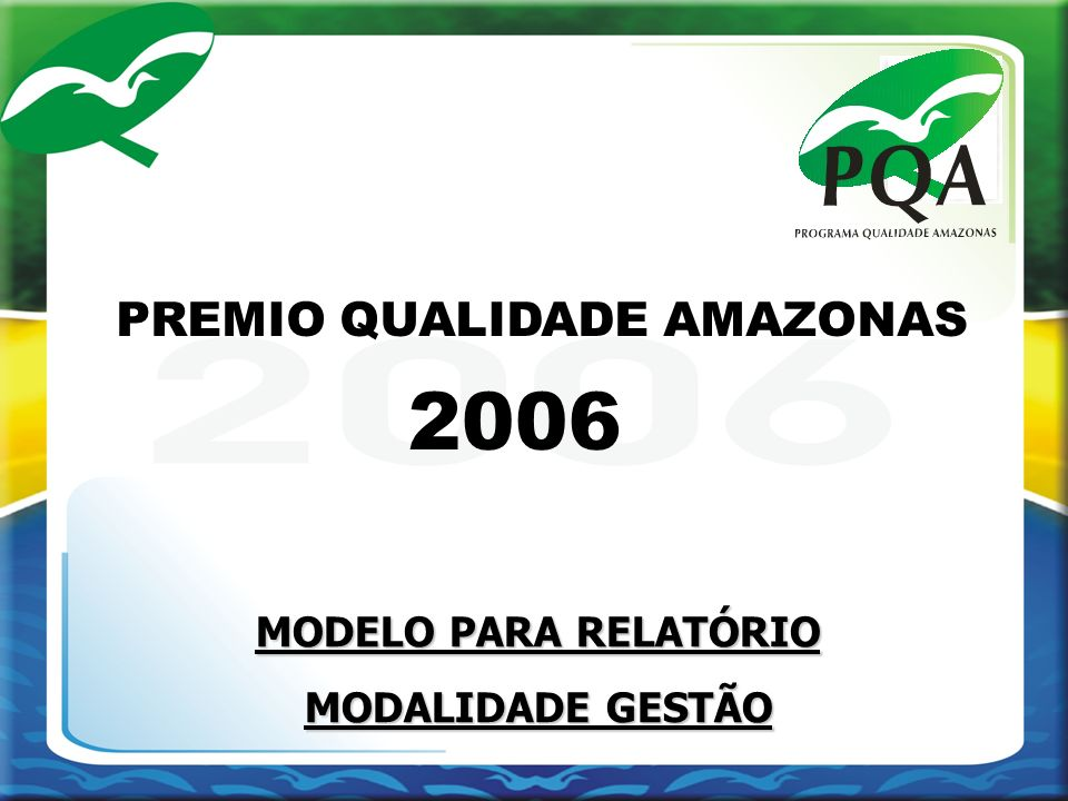 PREMIO QUALIDADE AMAZONAS