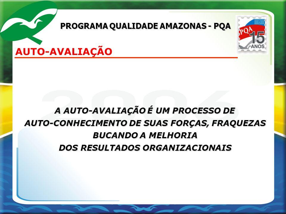 AUTO-AVALIAÇÃO PROGRAMA QUALIDADE AMAZONAS - PQA