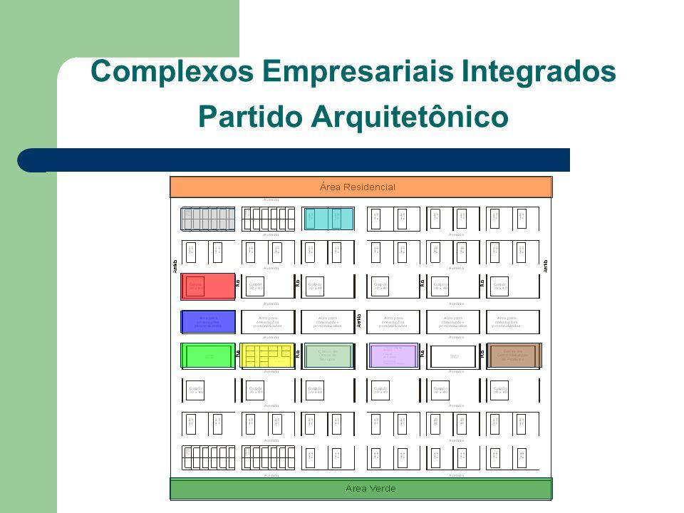 Complexos Empresariais Integrados Partido Arquitetônico