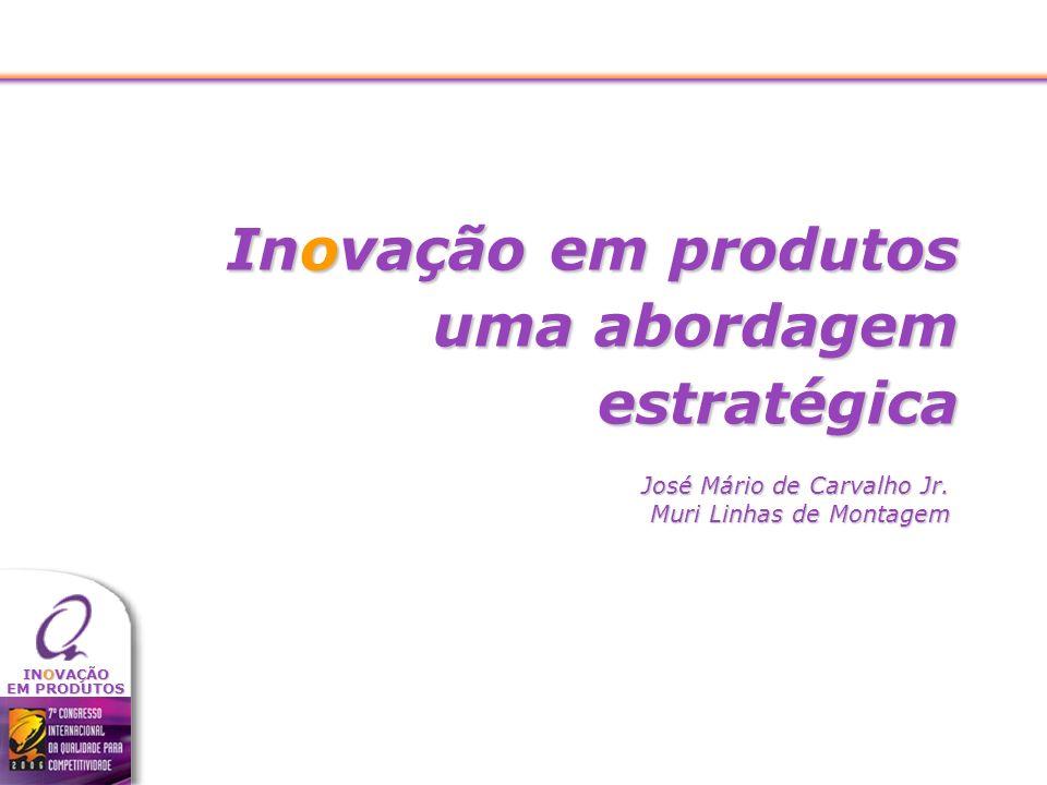 Inovação em produtos uma abordagem estratégica