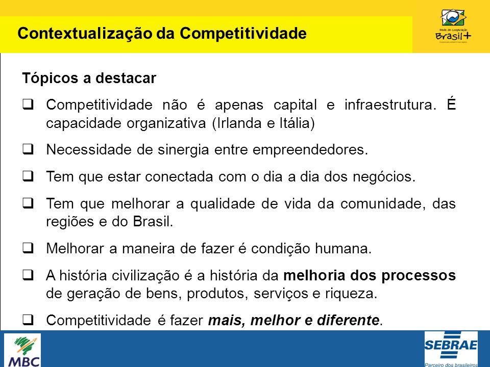 Contextualização da Competitividade