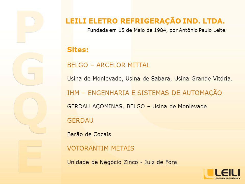 LEILI ELETRO REFRIGERAÇÃO IND. LTDA.