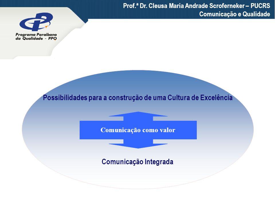Possibilidades para a construção de uma Cultura de Excelência