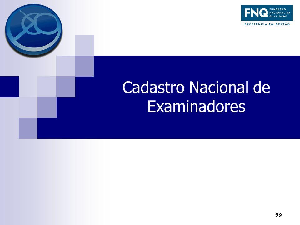 Cadastro Nacional de Examinadores
