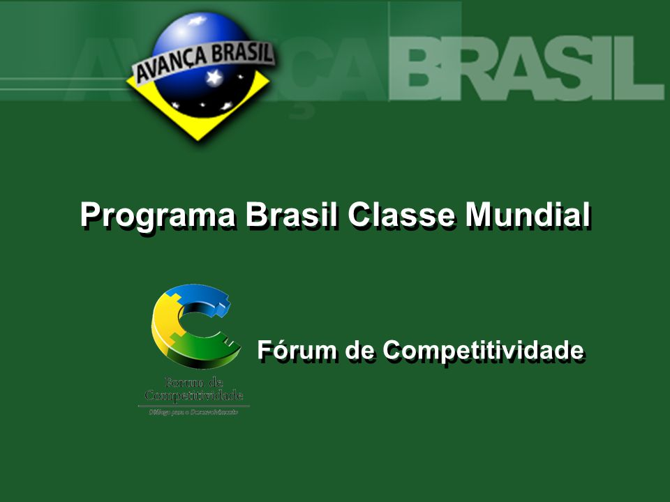 Programa Brasil Classe Mundial