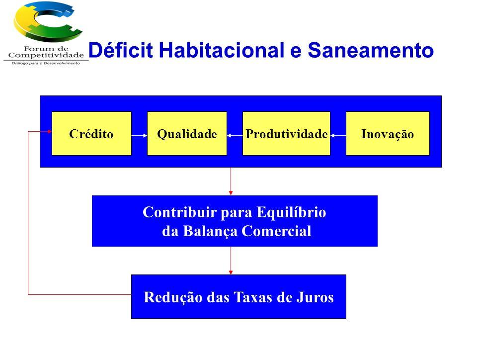 Déficit Habitacional e Saneamento