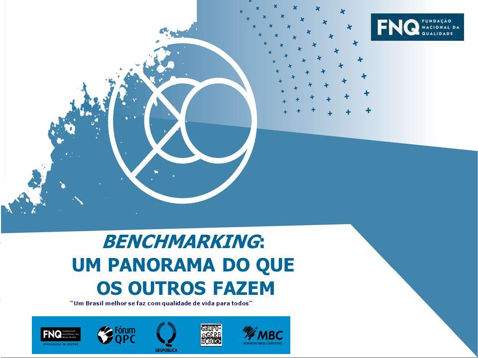 BENCHMARKING: UM PANORAMA DO QUE OS OUTROS FAZEM