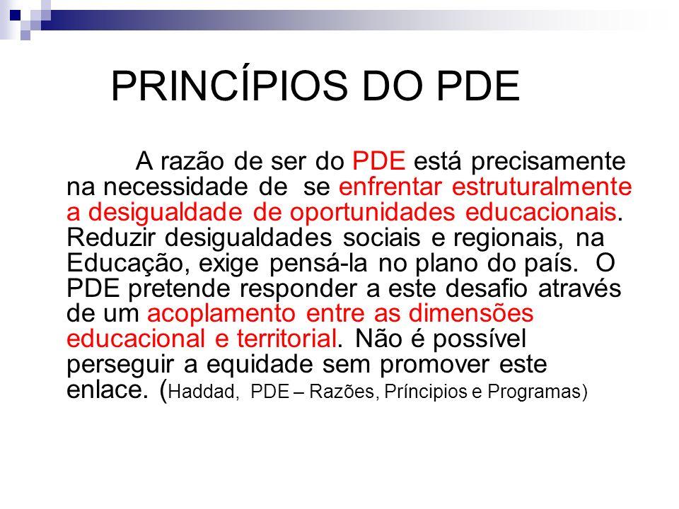 PRINCÍPIOS DO PDE