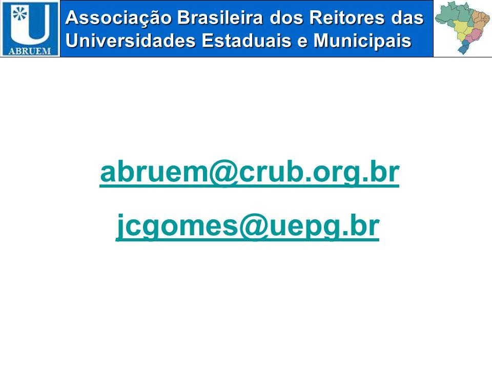 abruem@crub.org.br jcgomes@uepg.br