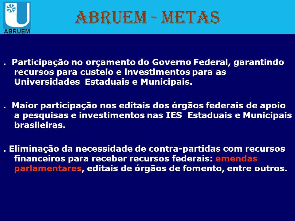 ABRUEM - Metas ABRUEM.