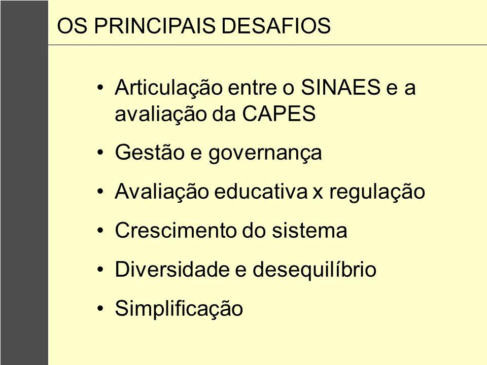 OS PRINCIPAIS DESAFIOS