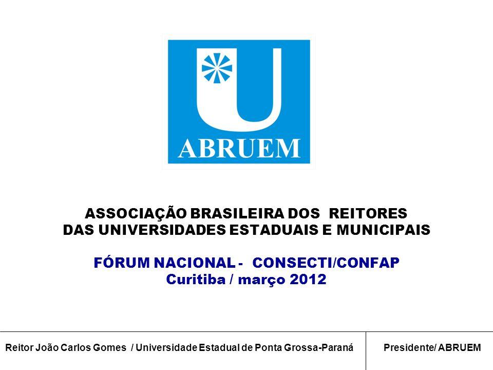 ASSOCIAÇÃO BRASILEIRA DOS REITORES
