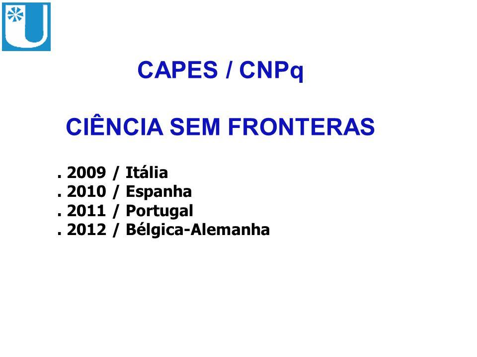 CAPES / CNPq CIÊNCIA SEM FRONTERAS