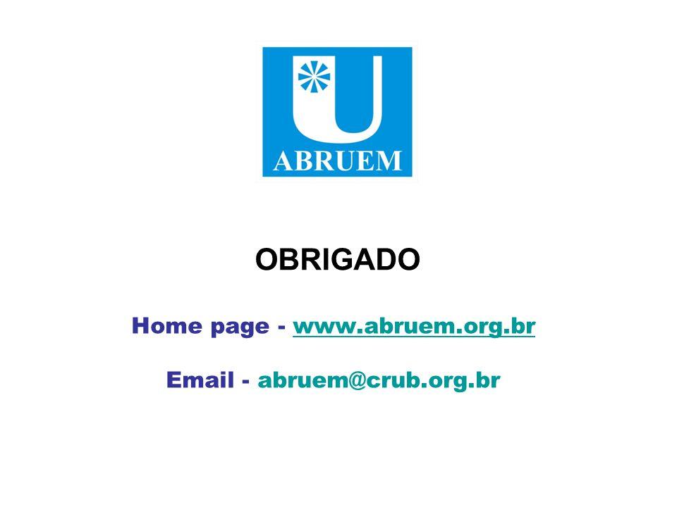 Home page - www.abruem.org.br Email - abruem@crub.org.br