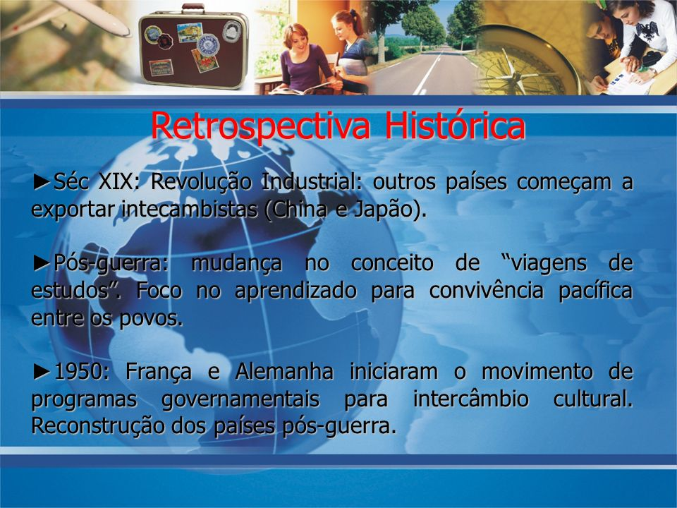 Retrospectiva Histórica