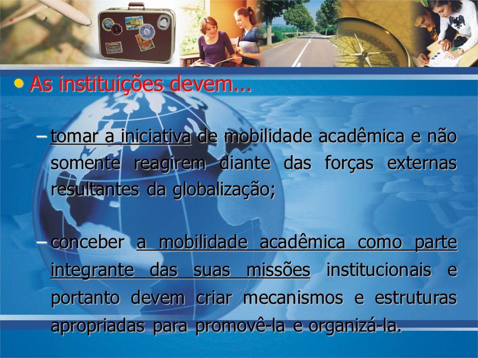08/10/07 As instituições devem...