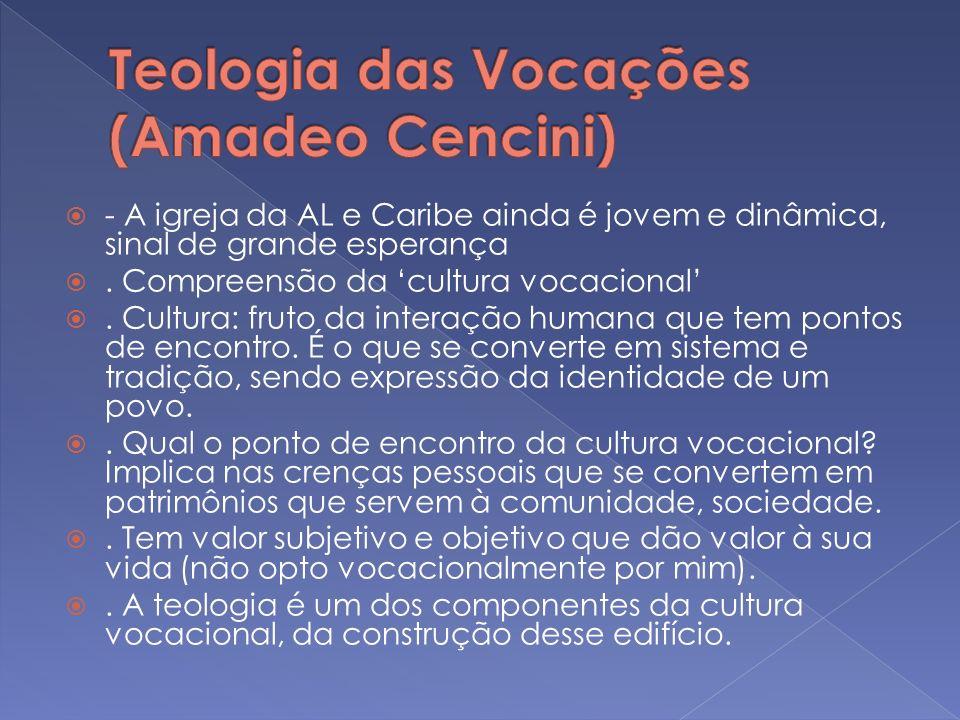 Teologia das Vocações (Amadeo Cencini)