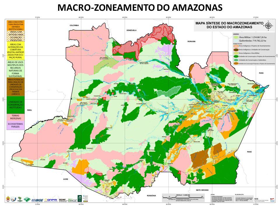 MACRO-ZONEAMENTO DO AMAZONAS