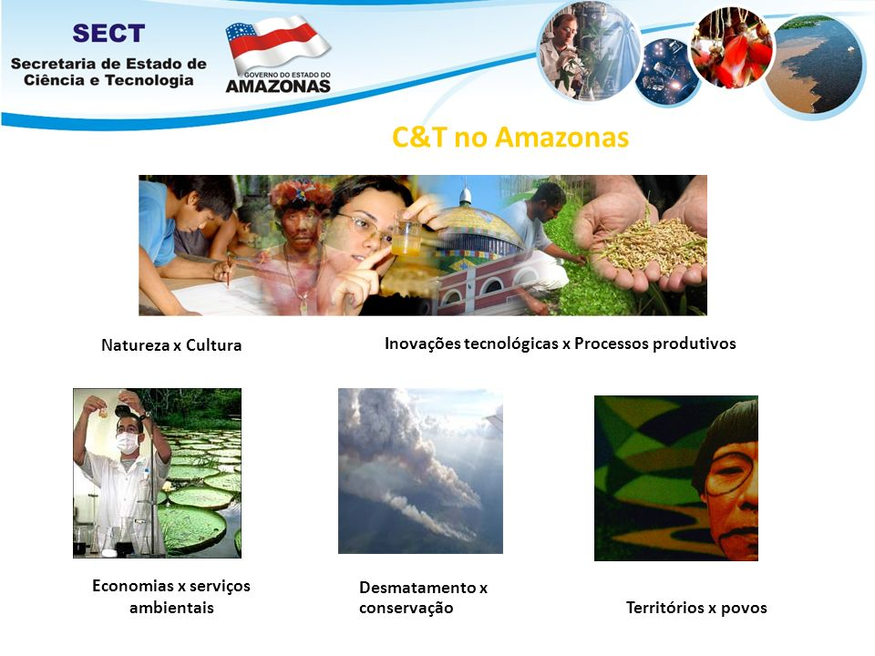 C&T no Amazonas Natureza x Cultura
