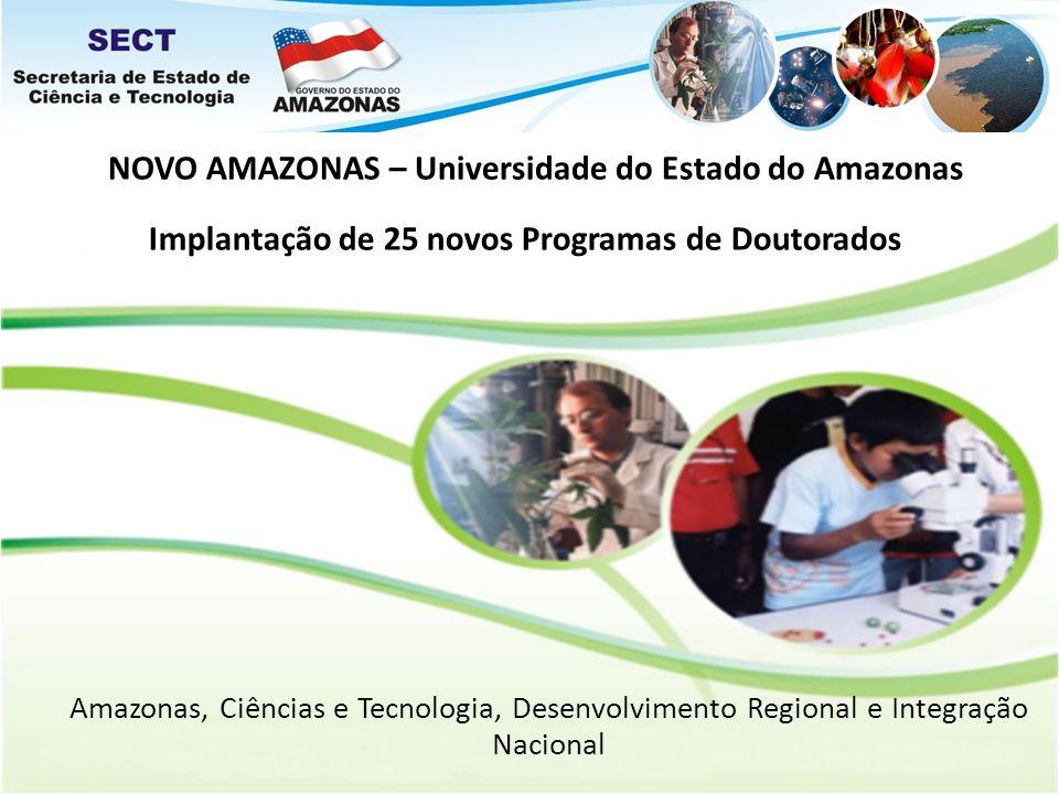 Implantação de 25 novos Programas de Doutorados