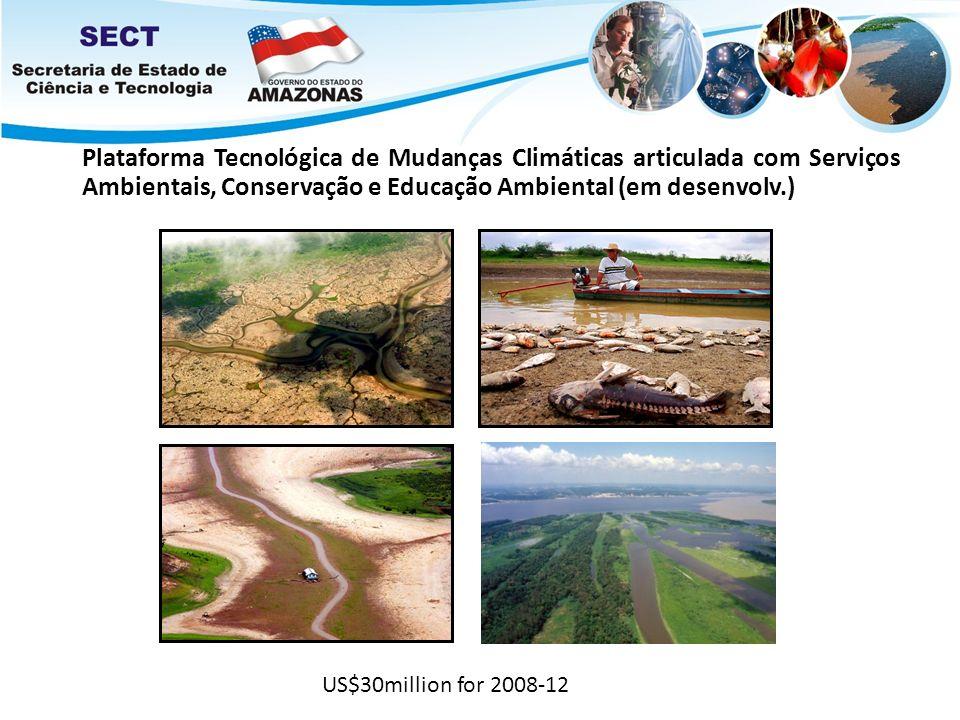 Plataforma Tecnológica de Mudanças Climáticas articulada com Serviços Ambientais, Conservação e Educação Ambiental (em desenvolv.)