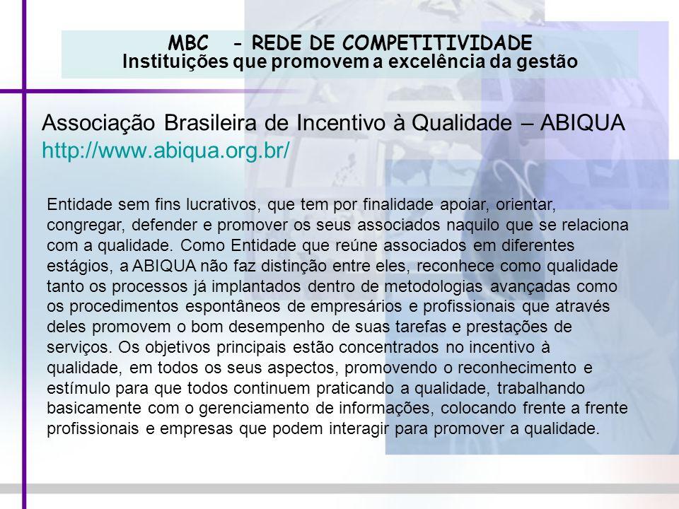 Associação Brasileira de Incentivo à Qualidade – ABIQUA
