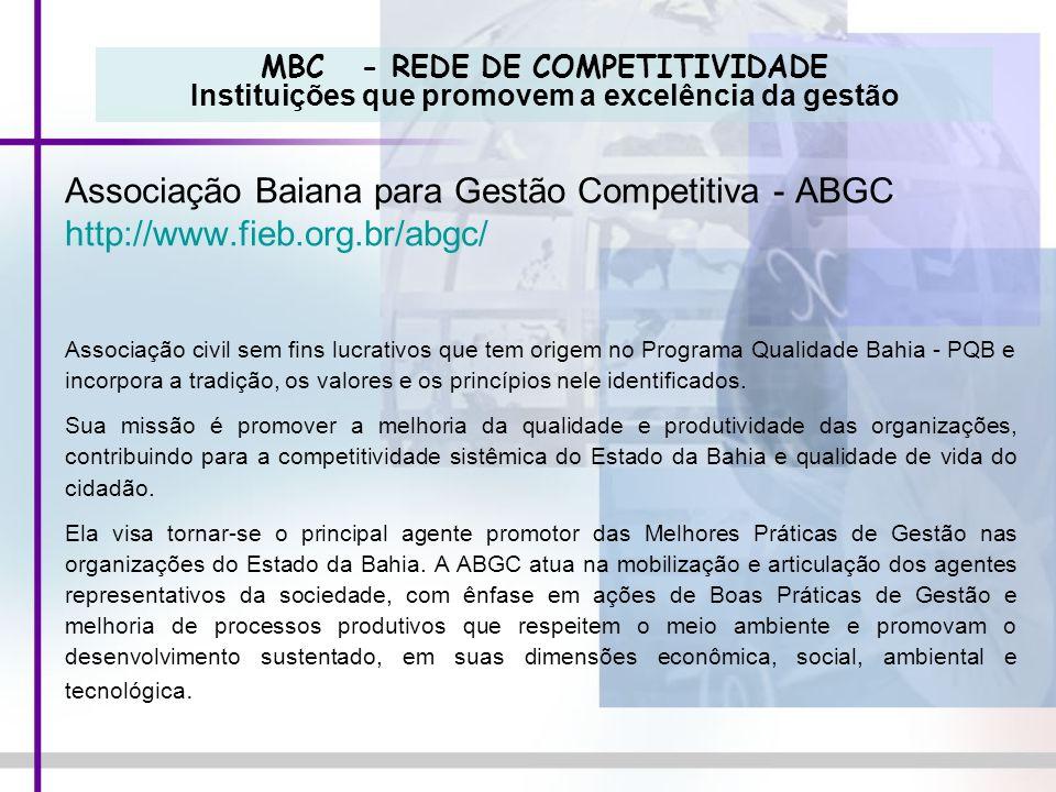 Associação Baiana para Gestão Competitiva - ABGC
