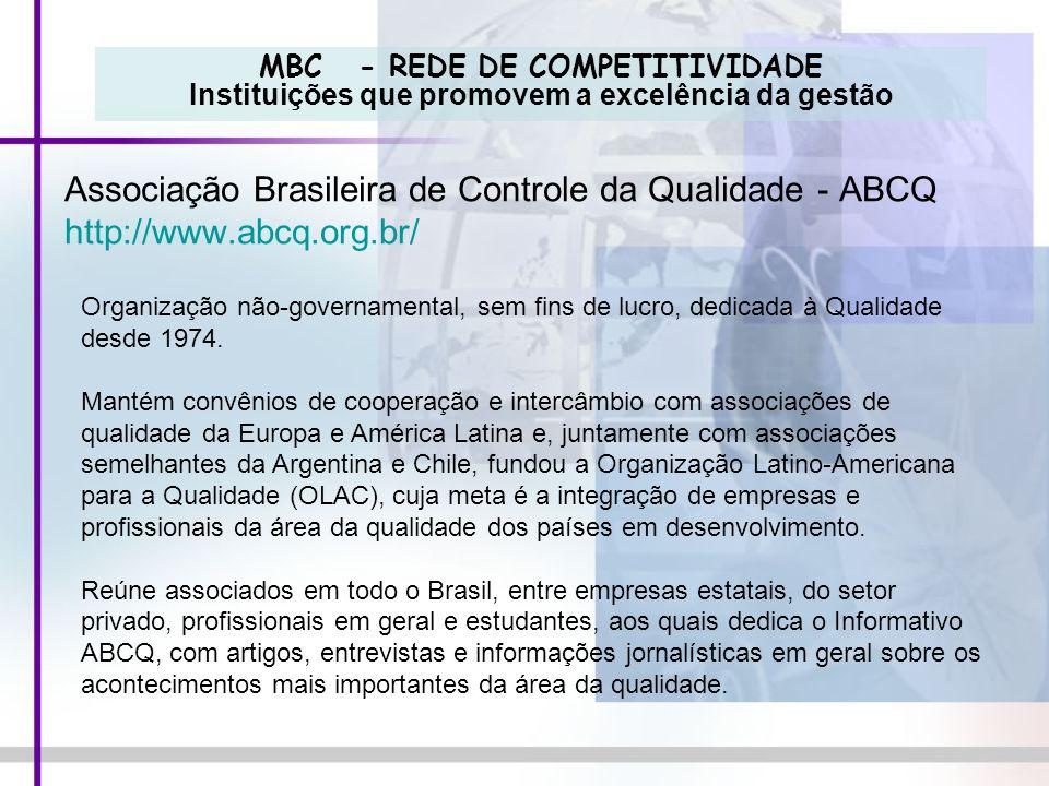 Associação Brasileira de Controle da Qualidade - ABCQ