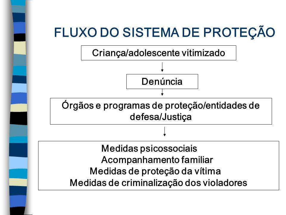 FLUXO DO SISTEMA DE PROTEÇÃO