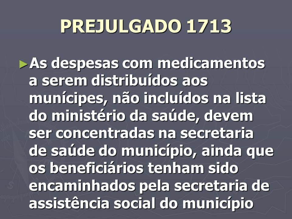PREJULGADO 1713