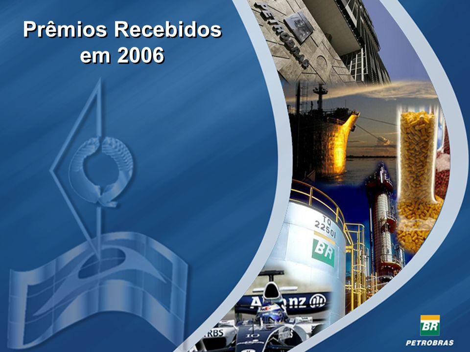Prêmios Recebidos em 2006