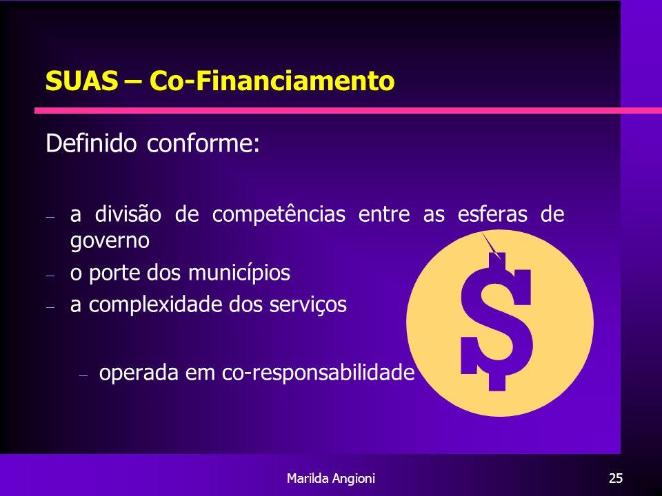 SUAS – Co-Financiamento