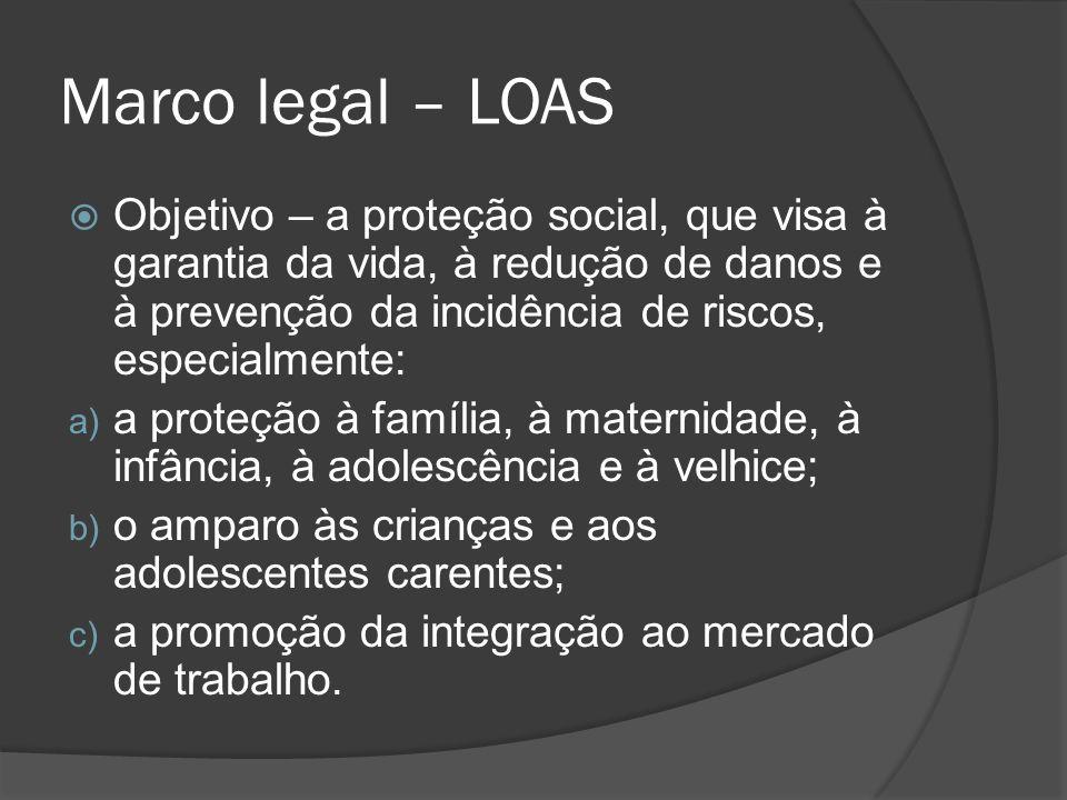 Marco legal – LOAS