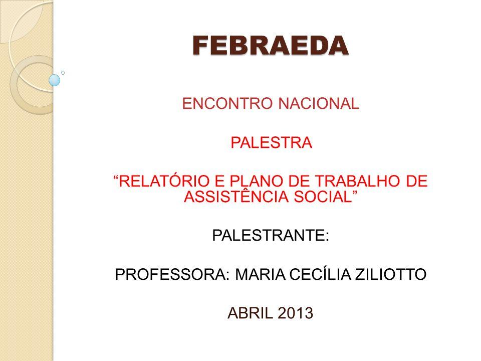 FEBRAEDA ENCONTRO NACIONAL PALESTRA
