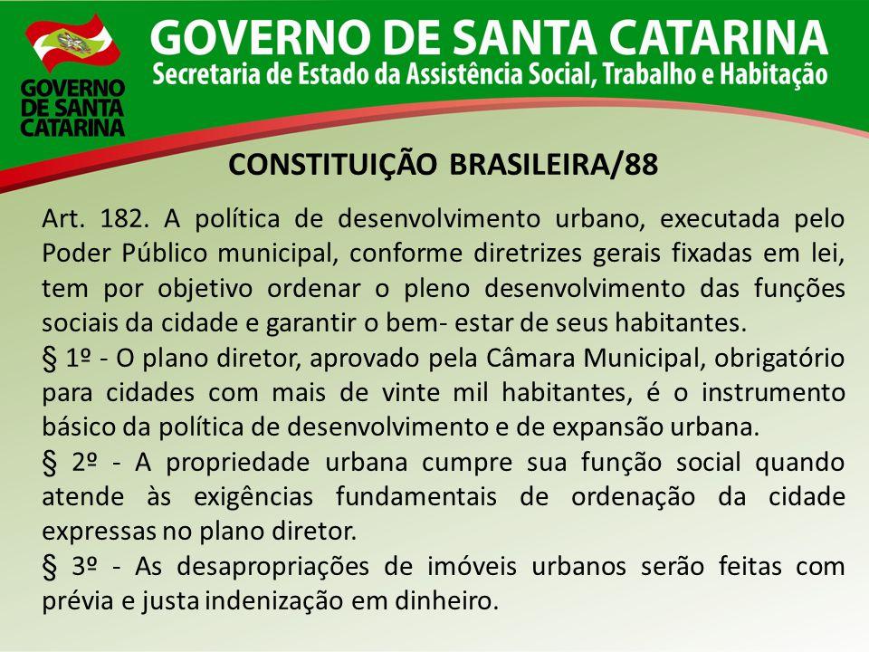 CONSTITUIÇÃO BRASILEIRA/88