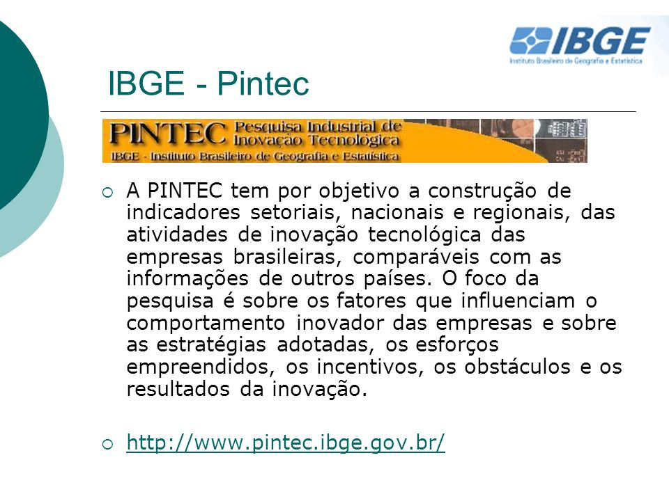 IBGE - Pintec